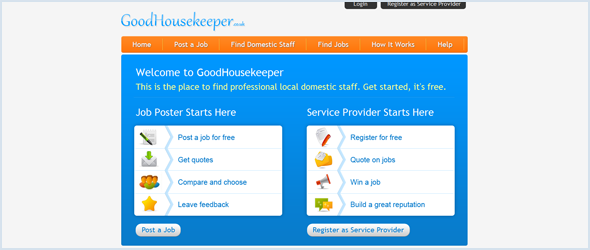The Good Housekeeper has been launched