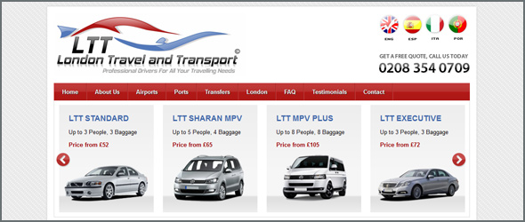 Luxury private hire at affordable prices – LTT gets a new website
