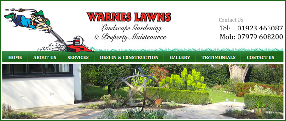 Warnes Lawns weeds out the competition with a new website